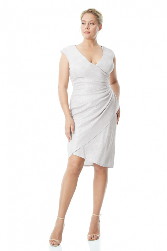 Powder plus size velvet 13 sleeveless mini dress