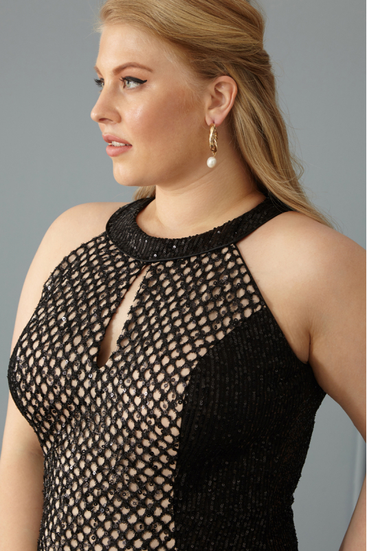Powder plus size dress