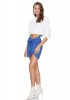 Sax knitted mini skirt